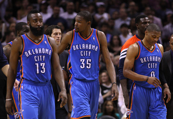 "The Thunder look to prove that their ""Big Three"" is the better of the two."