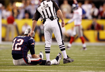 Tom Brady shown 'Bradying.'