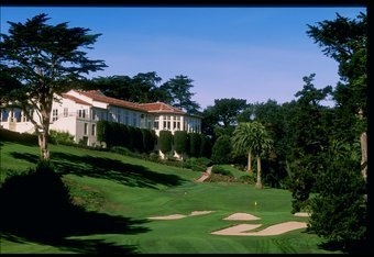 28 Oct 1997:  General view of the 18th hole at the Olympic Club, home of the 1998 US Open Site in San Francisco, California. Mandatory Credit: Jamie Squire  /Allsport