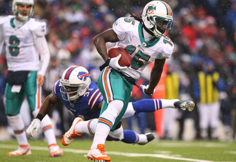 Davone Bess is the leading receiver on the Dolphins roster.