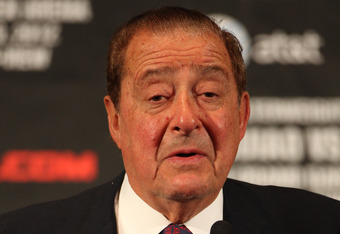 80-year-old Top Rank CEO Bob Arum, part of the old guard of boxing who's ruled the sport for 40 years, while also helping bring about its demise as a major sport in America