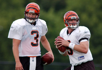 Kitna played with Carson Palmer.  They were close friends while on the Bengals.