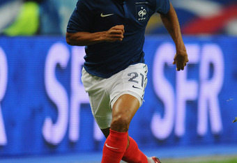 PARIS, FRANCE - NOVEMBER 11:  Loic Remy of France in action during the International Friendly between France and USA at Stade de France on November 11, 2011 in Paris, France.  (Photo by Mike Hewitt/Getty Images)