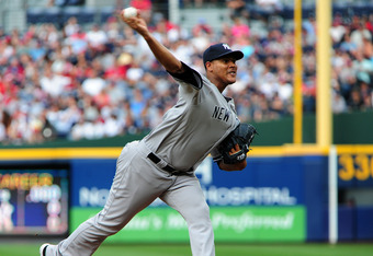 In addition to tossing seven scoreless innings, Ivan Nova also went 1-for-3 at the plate on Monday.