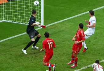 Alan Dzagoev's 3rd goal of the tournament