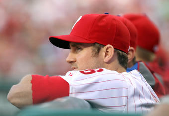 Enough of Chase Utley leaning on dugout rails. Let's see him on the field.