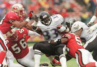 The Ravens' inaugural season was in 1996