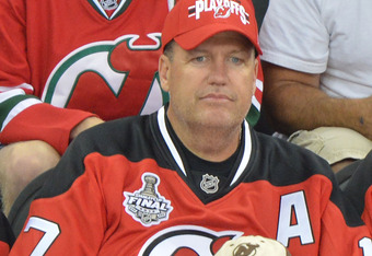 NEWARK, NJ - MAY 30:  New York Jets head coach Rex Ryan attends the Los Angeles Kings vs the New Jersey Devils game one during the 2012 Stanley Cup final at the Prudential Center on May 30, 2012 in Newark, New Jersey.  (Photo by Mike Coppola/Getty Images)