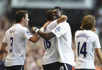 Bale, Adebayor and Modric are all Tottenham players who's futures need to be sorted.