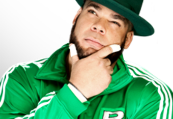Brodus deep in thought, lending credibility to my earlier theory that he's a Philosoraptor and not a Funkasaurus. (Credit WWE.com)