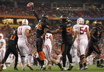 Oklahoma State and Stanford could have met in the title game with a playoff in place.