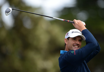 SAN FRANCISCO, CA - JUNE 14:  Padraig Harrington of Ireland watches a shot during the first round of the 112th U.S. Open at The Olympic Club on June 14, 2012 in San Francisco, California.  (Photo by Stuart Franklin/Getty Images)