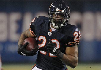 Much like Jones-Drew, Chicago Bear running back Matt Forte has been in the midst of a long contract battle with his current team.