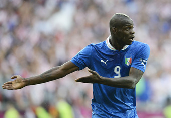 Balotelli has displayed more maturity at Euro 2012 than football fans have grown witnessed from him in the past.