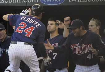 Trevor Plouffe's recent surge has given the Twins something to cheer about.