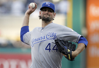 Luke Hochevar has yet to establish the consistency the Royals need from a starter with his experience.