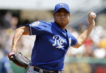 While rarely dominant, Bruce Chen has been the Royals' most consistent starter since arriving in KC in 2009.