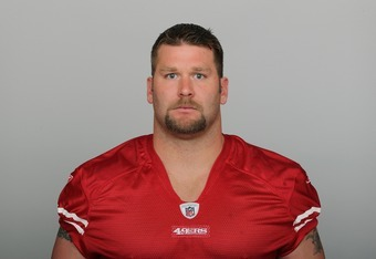Defensive tackle, end and rumored beast, Justin Smith.
