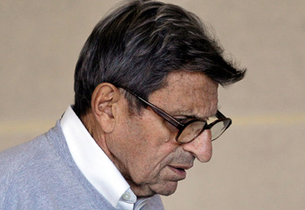 Paterno was fired for his lack of action after his conversation with McQueary