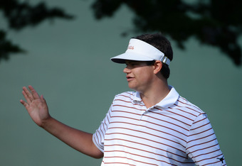 17 year old Beau Hossler held the lead briefly on Friday