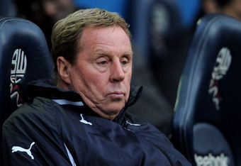 The now departed Harry Redknapp