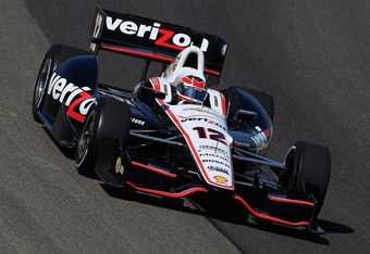 WEST ALLIS, WI - JUNE 15:  Will Power of Australia, drives the #12 Verizon Team Penske Chevrolet Dallara during practice for the IZOD IndyCar Series Milwaukee IndyFest presented by XYQ at The Milwaukee Mile on June 15, 2012 in West Allis, Wisconsin.  (Pho