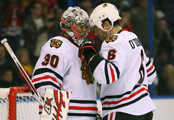 Ray Emery's signing was the beginning of the end for Alexander Salak in Chicago.
