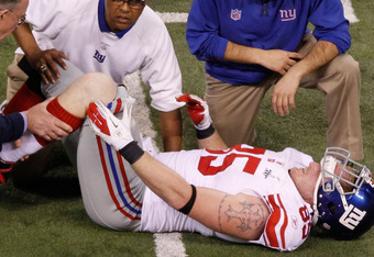 Ballard's torn ACL cut his Super Bowl short and put his future in doubt.