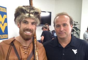 Photo Credit - @WVUMascot Twitter Feed