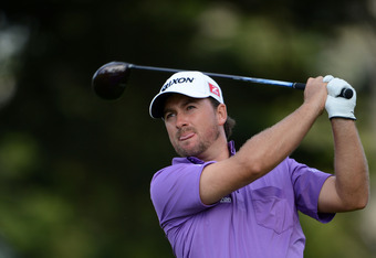 SAN FRANCISCO, CA - JUNE 16:  Graeme McDowell of Northern Ireland watches his tee shot on the 12th hole during the third round of the 112th U.S. Open at The Olympic Club on June 16, 2012 in San Francisco, California.  (Photo by Stuart Franklin/Getty Image