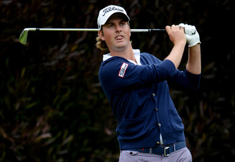 SAN FRANCISCO, CA - JUNE 17:  Webb Simpson of the United States hits his tee shot on the 13th hole during the final round of the 112th U.S. Open at The Olympic Club on June 17, 2012 in San Francisco, California.  (Photo by Stuart Franklin/Getty Images)