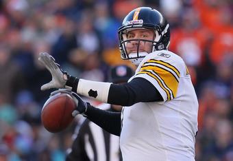 Steelers QB Ben Roethlisberger