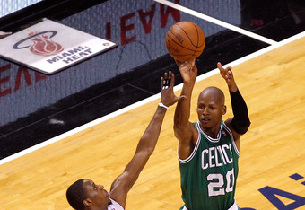 Will Ray Allen's three-point finals record be challenged?