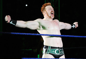 DURBAN, SOUTH AFRICA - JULY 08:  The Celtic Warrior Sheamus during the WWE Smackdown Live Tour at Westridge Park Tennis Stadium on July 08, 2011 in Durban, South Africa.  (Photo by Steve Haag/Gallo Images/Getty Images)