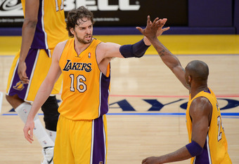 Pau Gasol has enjoyed success on the Lakers, but is not an upgrade in Memphis.