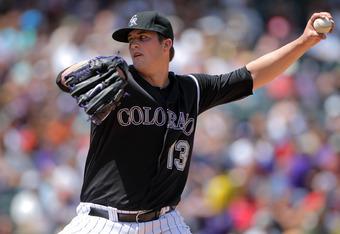 Drew Pomeranz has a 3.06 ERA with Triple-A Colorado Springs.