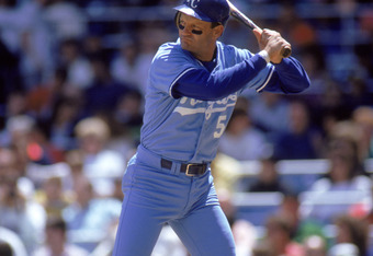 George Brett hit .390 in 1980, no one has had an avg. at or over .400 as deep in the season as Brett did in 1980.