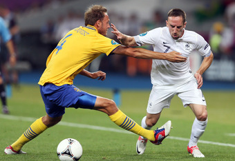 Can Franck Ribery help lift France over Spain?