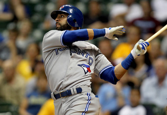 Jose Bautista, keeper of baseball's most violent swing.