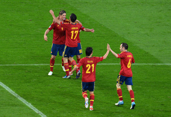 Spain: A squad united