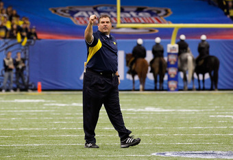 Internet rumors reported that Brady Hoke revoked Jaron Dukes' scholarship. Dukes told B/R that the rumor was false.