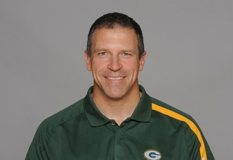 Packers tight end coach Jerry Fontenot