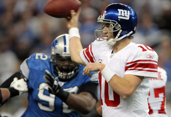 In 2012, Shaun Rogers will be chasing every QB except Eli Manning.
