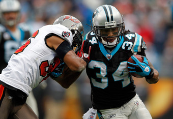The Panthers could have the NFL's best rushing attack in 2012.