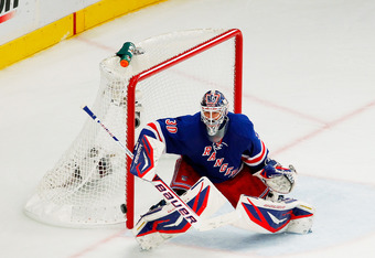The Rangers' Henrik Lundqvist captured the Vezina.