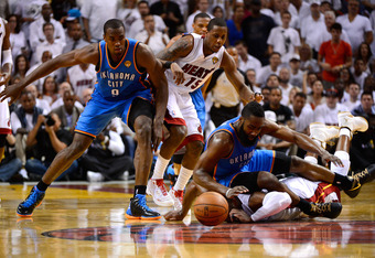 Is this the last time James Harden and Serge Ibaka will share the court as teammates?