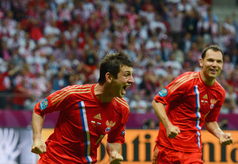 Dzagoev took Euro 2012 by storm this summer.