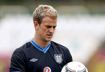 England's Joe Hart is slowly emerging as one of the world's best goalkeepers.