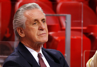 Heat President Pat Riley