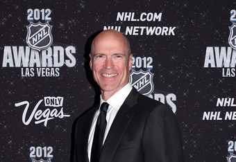 The Mark Messier Award is awarded for leadership on and off the ice.